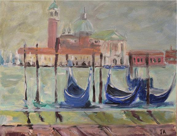 Venice Acrylic on canvas 50 x 40cm